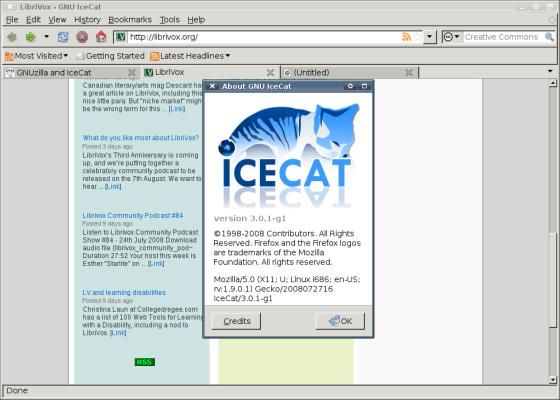 Instalar paquete de idioma en castellano para Icecat 17.0.1