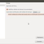 Sinadura, el sistema de firma digital para Linux