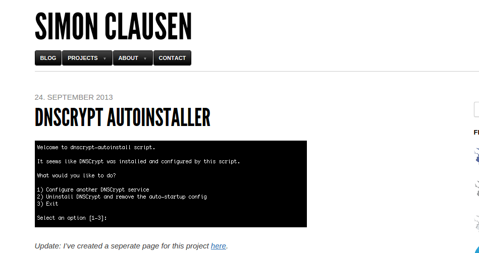 Instalar DNScrypt en Linux