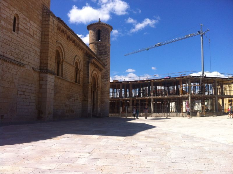 Iglesia de San Martín de Tours, Frómista (Palencia). Crédito: Hispania Nostra
