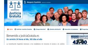 Portal Justiciagratuita.es Crédito: CGAE