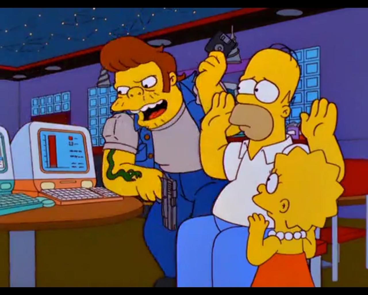 Los Simpson anticiparon el Bitcoin en 1999