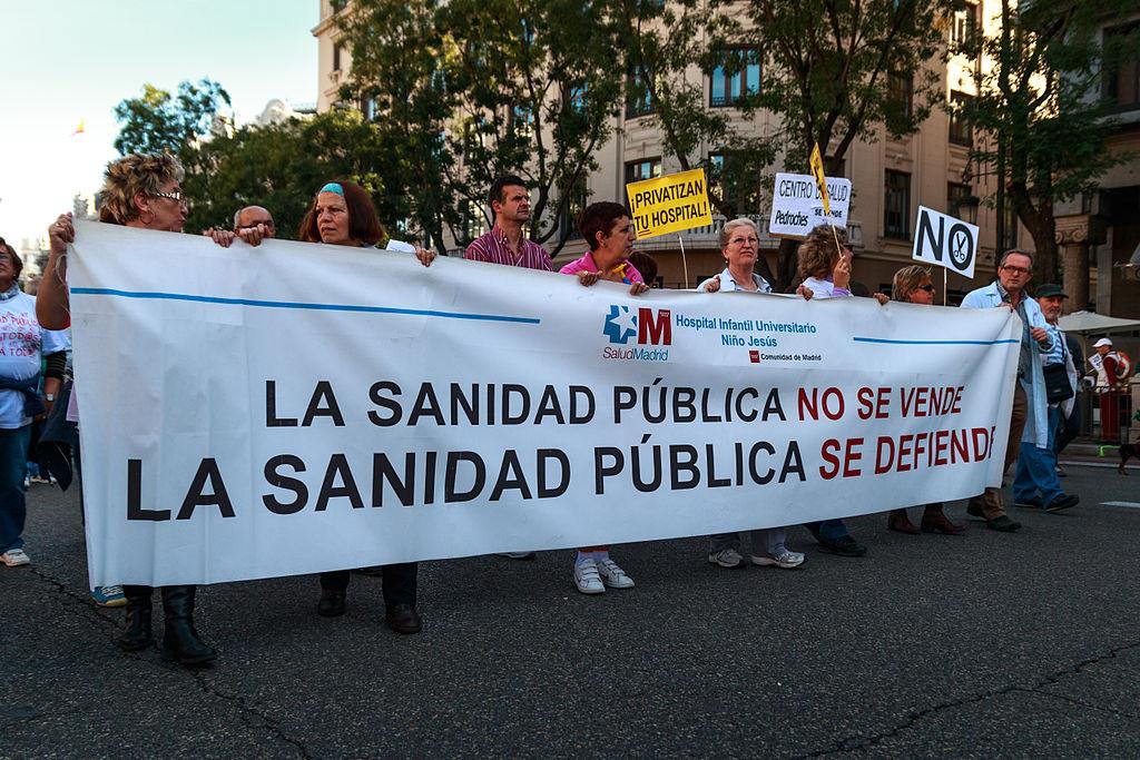 Manifestación en Madrid en 2013. Crédito: Wikimedia