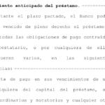 Un juzgado de Móstoles admite una cláusula de vencimiento anticipado redactada ilegalmente